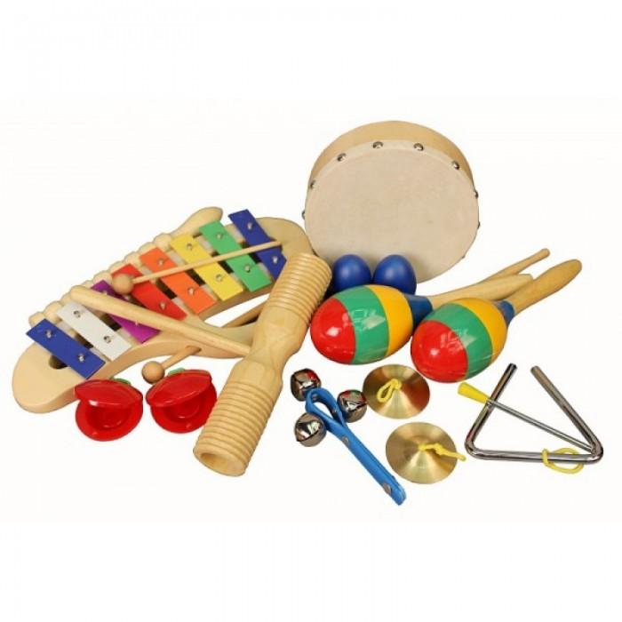 Купить Музыкальные инструменты, Музыкальный инструмент Flight Набор перкуссии (10 предметов)