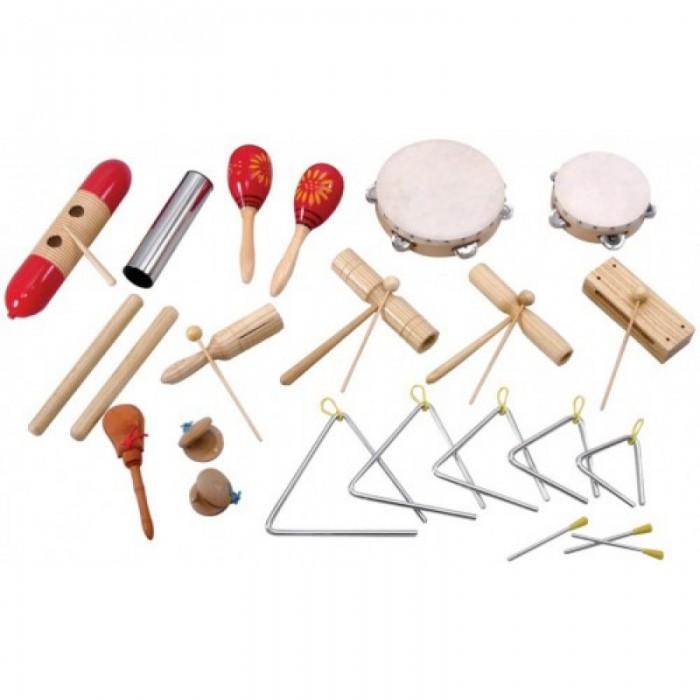 Купить Музыкальные инструменты, Музыкальный инструмент Flight Набор перкуссии (17 предметов) FPS-17
