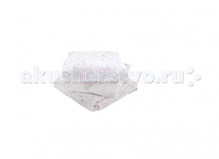 Пеленки Aden&Anais Набор из муслинового хлопка 70х70 см 3 шт. 7205