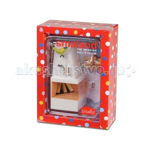 Кукольные домики и мебель Lundby Мебель Смоланд Камин с декором