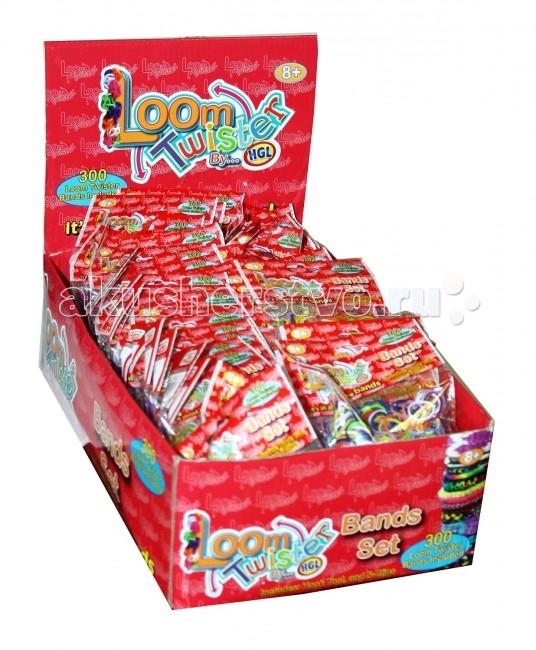 Наборы для творчества Loom Twister Набор цветных резинок для плетения фенечек SV11818 набор цветных резинок loom twister для плетения фенечек