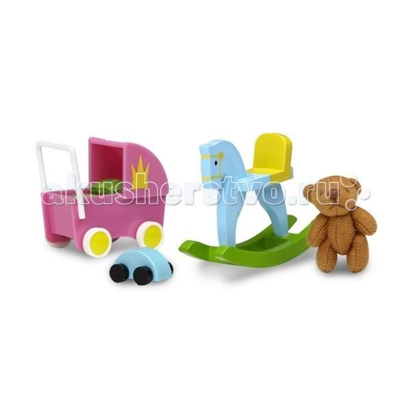 Lundby Смоланд Игрушки для детской комнаты от Lundby