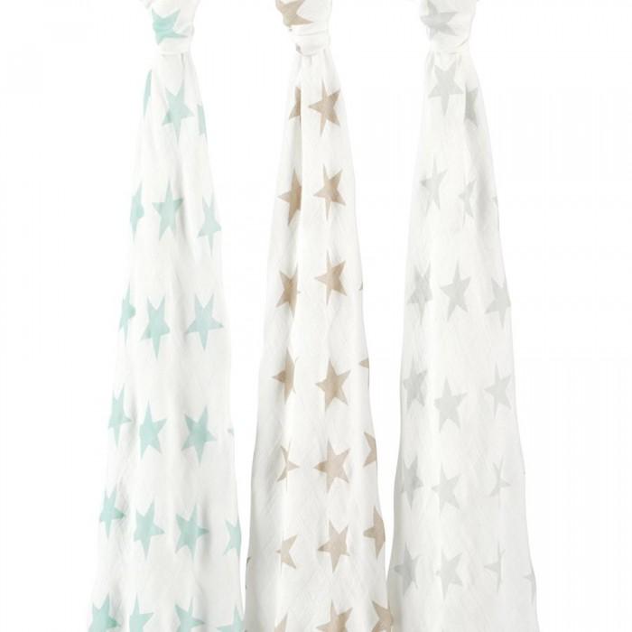 Купить Пеленки, Пеленка Aden&Anais Набор из бамбука 120х120 см 3 шт. 9207