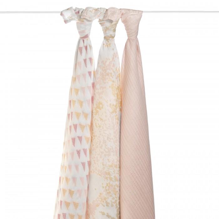 Купить Пеленки, Пеленка Aden&Anais Набор из бамбука 120х120 см 3 шт. 9216