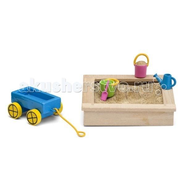 Lundby Смоланд Детская песочница с игрушками