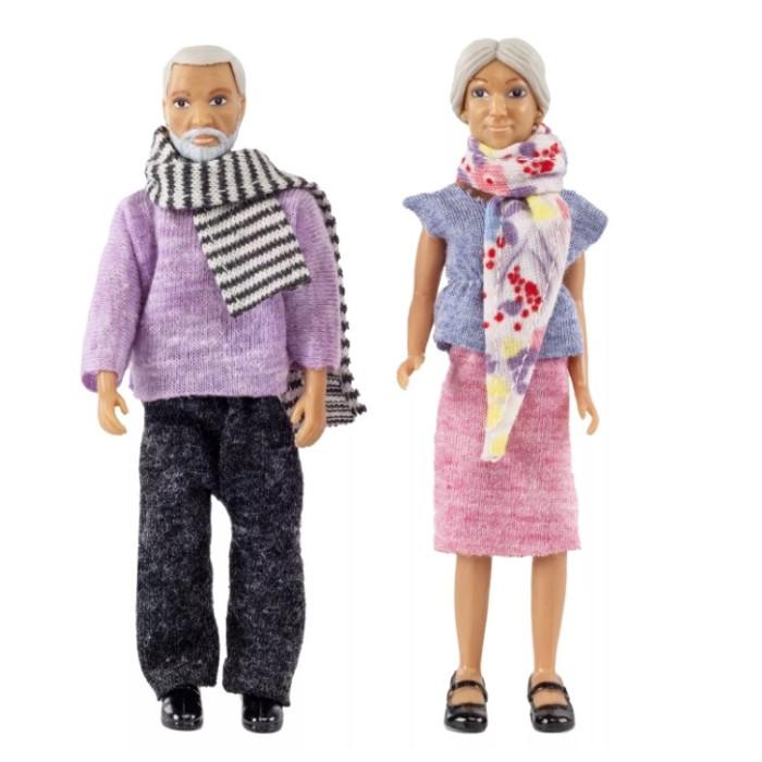 Картинка для Куклы и одежда для кукол Lundby Смоланд Бабушка с дедушкой