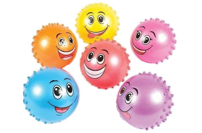 Мячи Shantou Gepai Мяч Улыбка 20 см спортивный инвентарь shantou gepai дартс детский с липучкой