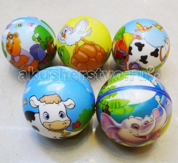 Мячики и прыгуны Shantou Gepai Мячик мягкий Зверята ласковые зверята котенок в спб