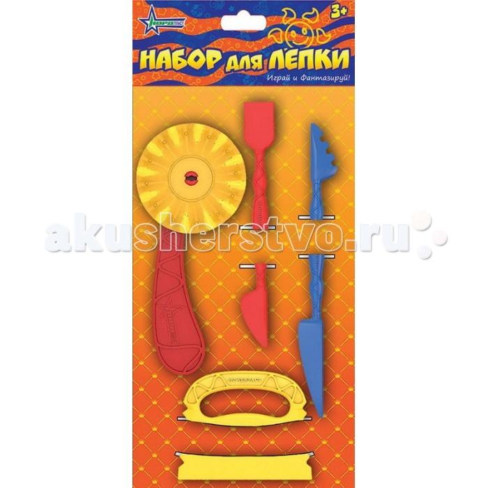 Всё для лепки Нордпласт Набор инструментов для лепки всё для лепки playgo набор 8636