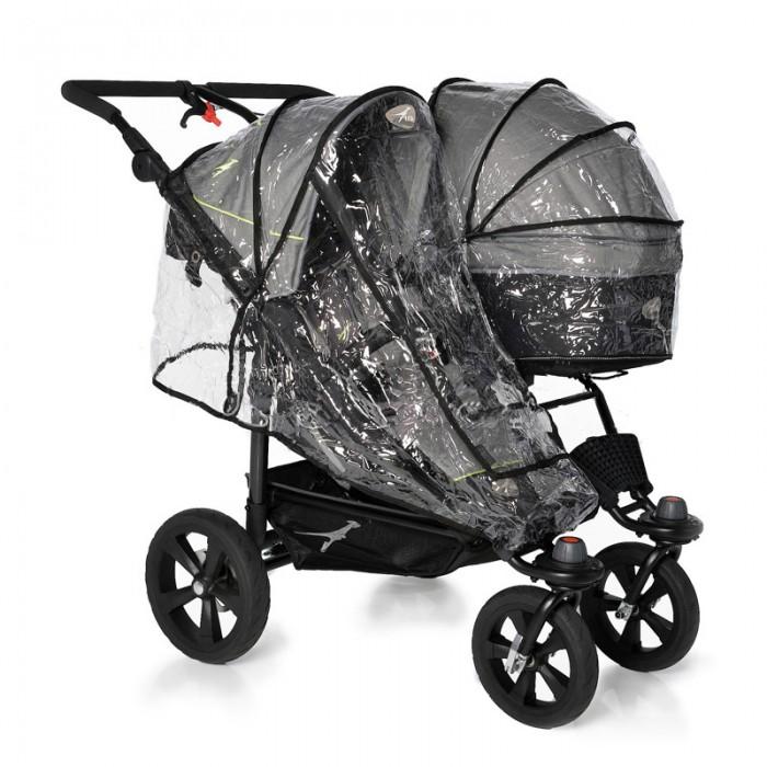 Дождевики TFK для коляски Twin Adventure на два сидения двойной, Дождевики - артикул:517986