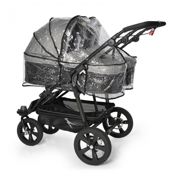 Детские коляски , Дождевики TFK для люльки Twin DuoX double арт: 518016 -  Дождевики