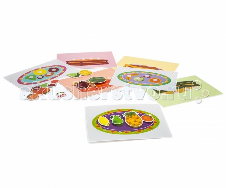 Развивающие игрушки Pic`n Mix Пазл-липучка Фрукты pic n mix обучающая игра пазл липучка лесные животные