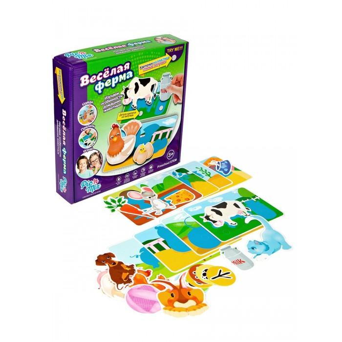 Игры для малышей Pic`n Mix Обучающая игра пазл-липучка Ферма pic n mix обучающая игра пазл липучка веселая ферма