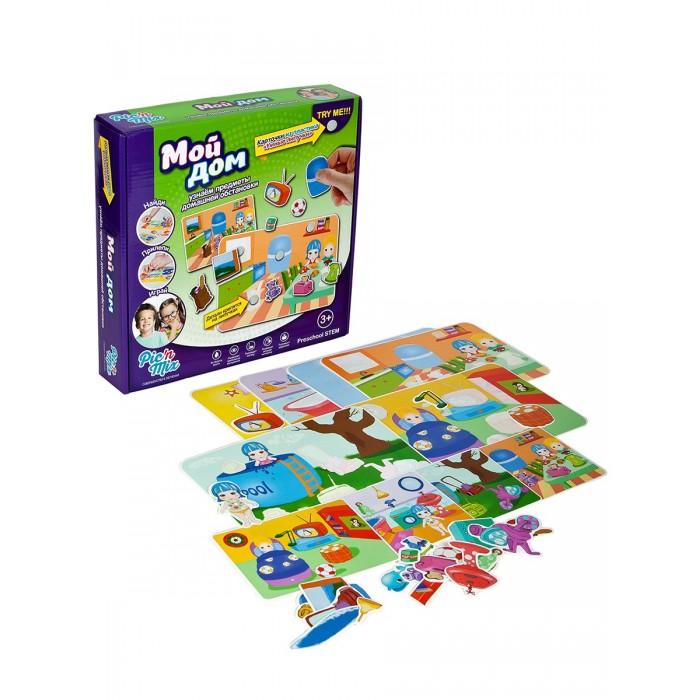 Игры для малышей Pic`n Mix Пазл-липучка Дом pic n mix обучающая игра пазл липучка лесные животные