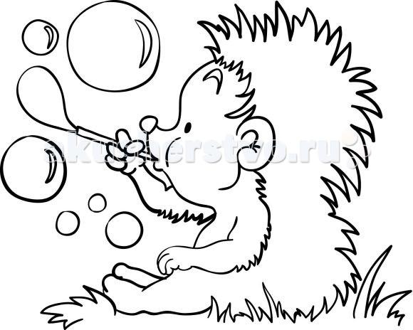 Раскраски Color Puppy Роспись по холсту Ежик раскраски росмэн роспись по холсту пони