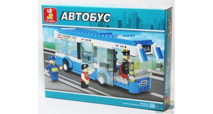Конструкторы Sluban Автобус Городская серия (235 деталей)