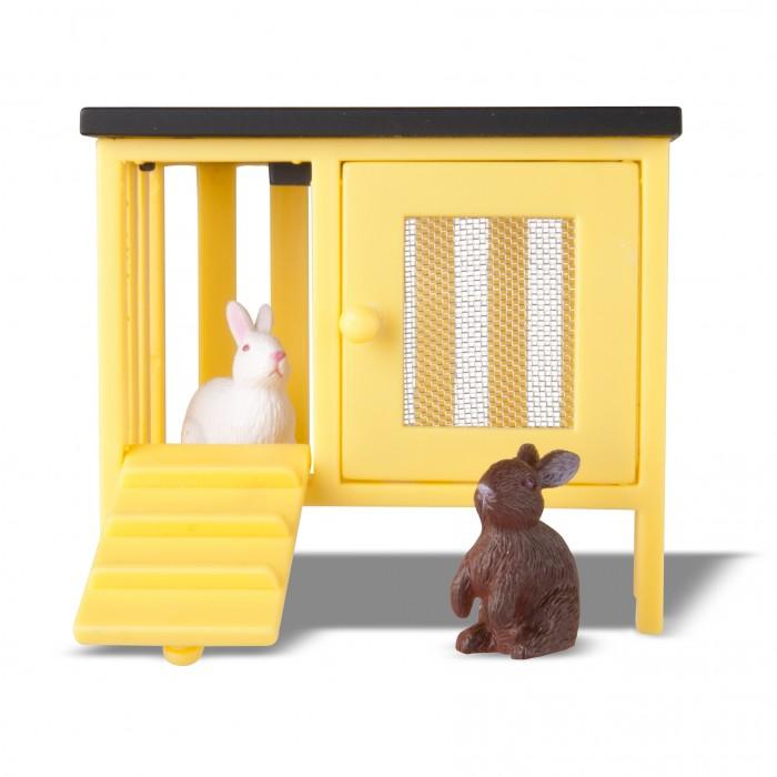 Кукольные домики и мебель Lundby Животные для домика Смоланд Кролики и домик LB_60101400