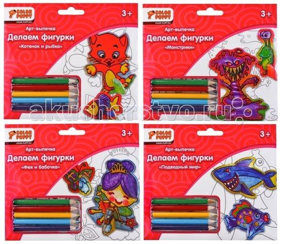 Наборы для творчества Color Puppy Набор для творчества Делаем фигурку (запекание) color puppy набор для творчества делаем брелоки запекание