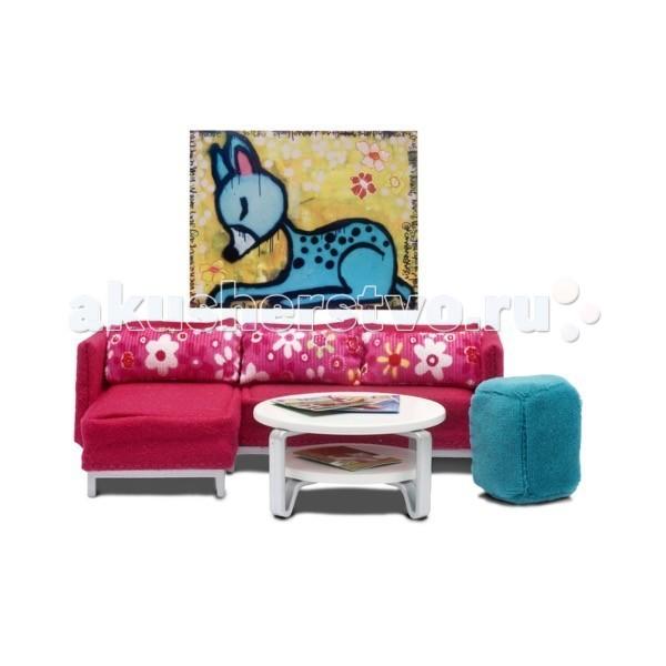 Кукольные домики и мебель Lundby Мебель Стокгольм Гостиная