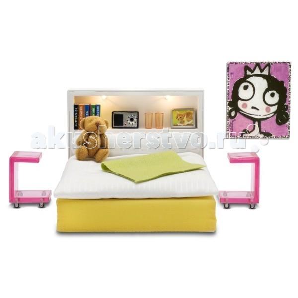 Картинка для Кукольные домики и мебель Lundby Мебель Стокгольм Спальня