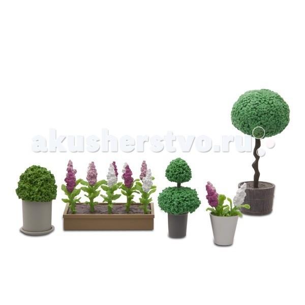 Кукольные домики и мебель Lundby Стокгольм Набор цветов и растений кукольный домик lundby с освещением стокгольм с бассейном lb 60903200