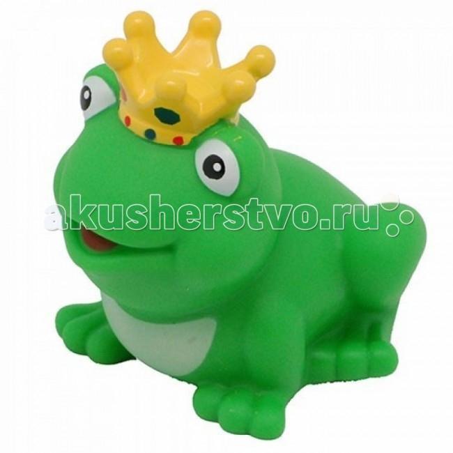 Игрушки для ванны LiLaLu Игрушка для купания Лягушка Принцесса lilalu игрушка для купания уточка байкер