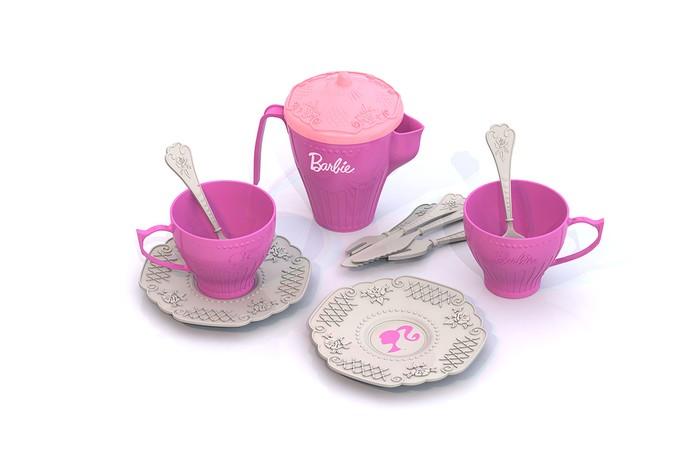 Ролевые игры Нордпласт Набор чайной посудки Барби набор посудки за чашкой чая melala