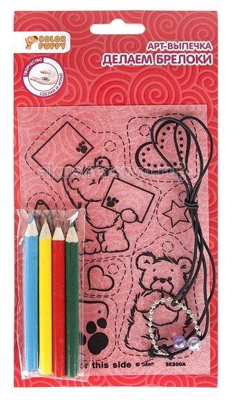 Заготовки под роспись Color Puppy Арт-выпечка Брелоки Мишка