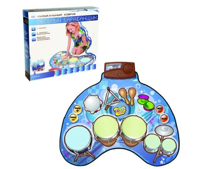 Купить Игровые коврики, Игровой коврик Наша Игрушка Музыкальный Веселый барабанщик