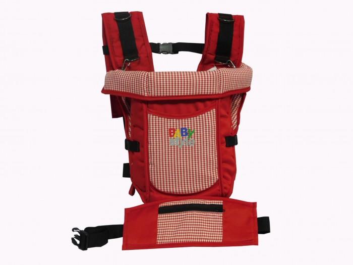 Рюкзак-кенгуру BabyStyle МишкаМишкаМишка – рюкзак для переноски, снаружи покрыт прочным, качественным материалом, легко стирающимся (100% п/э).   Внутренняя поверхность рюкзака кенгуру «Мишка» из стопроцентной хлопчатобумажной ткани.   Наполнитель рюкзака – поролон (100% п/у).   Благодаря широким ремням, длину которых можно регулировать, а также жесткой поддерживающей спинке, вес ребенка оптимально распределен во время переноски на шею и плечи родителя.   Рюкзак поставляется в различных расцветках.<br>
