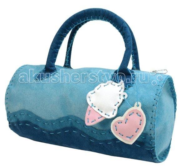 Наборы для творчества Color Puppy Набор для творчества Шьем сумочку Лазурная волна color puppy набор для творчества делаем брелоки запекание