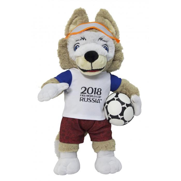 Сувениры к ЧМ по футболу 2018 FIFA World Cup Russia Мягкая игрушка Zabivaka 40 см