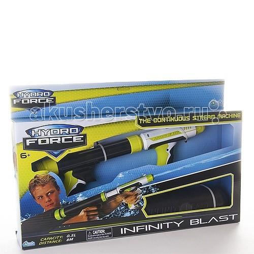 Игрушечное оружие Hydro Force Водное оружие со съемным резервуаром Infinity Blast zing hydro force zg658