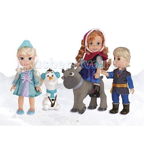 Disney Princess Игровой набор Холодное Сердце Принцессы Дисней 5 героевPrincess Игровой набор Холодное Сердце Принцессы Дисней 5 героевИгровой набор Холодное Сердце Принцессы Дисней 5 героев, 15 см.  История от Дисней под названием «Холодное Сердце» покорила воображение множества детишек, и теперь у каждого юного поклонника красочного мультфильма есть свои любимые герои этой экранизированной повести.  В данном наборе сразу пять героев мультика, выполненных с применением самых современных видов технологий, позволяющих добиться максимальной реалистичности кукольных персонажей.   Вручите своему ребёнку удивительную возможность вместе с оригинальными персонажами полностью погрузиться в фантастический мир обожаемых сказок!<br>