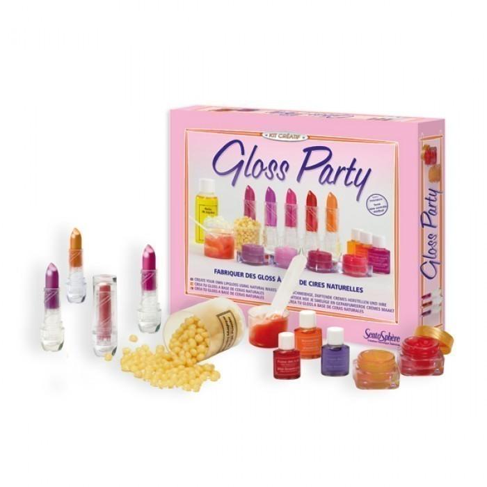 Наборы юного парфюмера SentoSpherE Набор для творчества Блеск для губ, Наборы юного парфюмера - артикул:522256