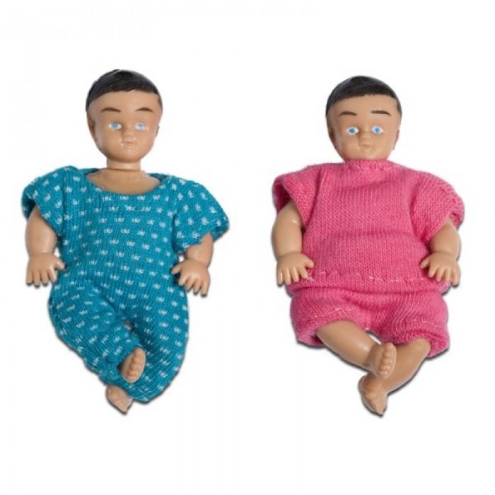 Кукольные домики и мебель Lundby Набор кукл для домика Смоланд Близнецы LB_60806200