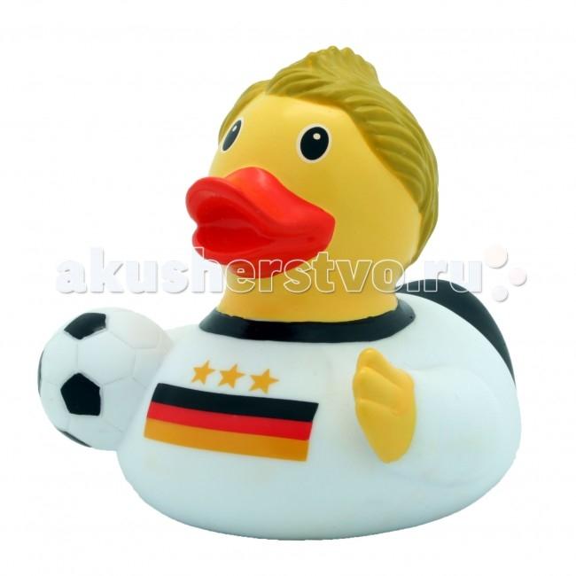Игрушки для ванны FunnyDucks Игрушка для купания Уточка Футболист игрушка для купания lilalu уточка дракула