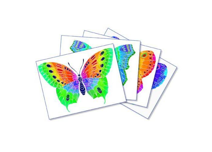 Творчество и хобби , Раскраски SentoSpherE Акварельная Бабочка арт: 522416 -  Раскраски