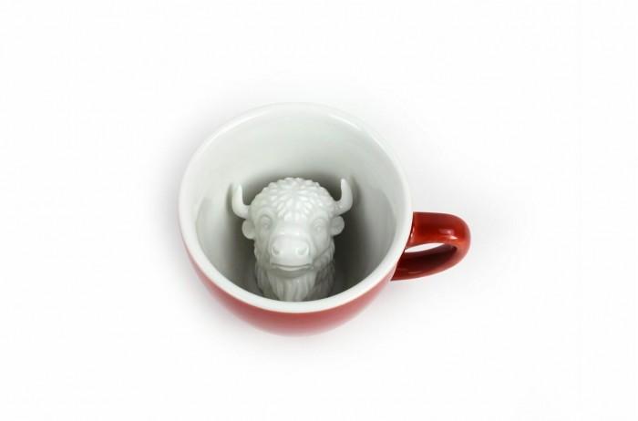 Аксессуары для кормления , Посуда Creature Cups Кружка с бизоном 330 мл арт: 522501 -  Посуда