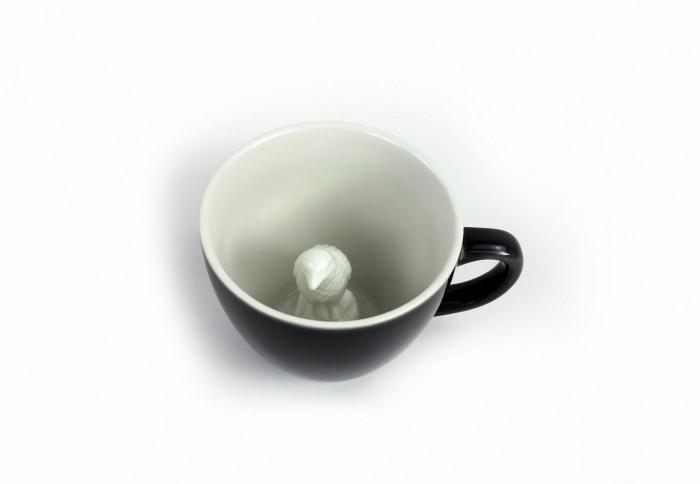 Посуда Creature Cups Кружка с вороной 330 мл