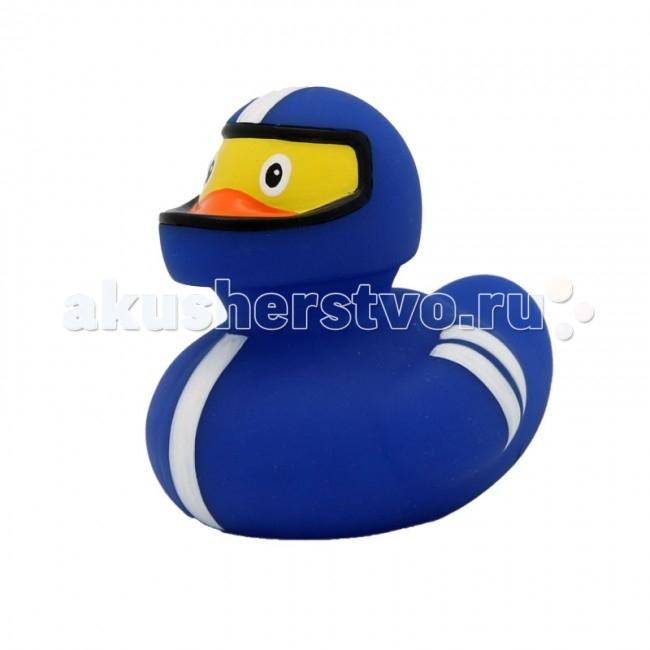 Игрушки для ванны LiLaLu Игрушка для купания Уточка Спиди гонщик lilalu игрушка для купания уточка байкер