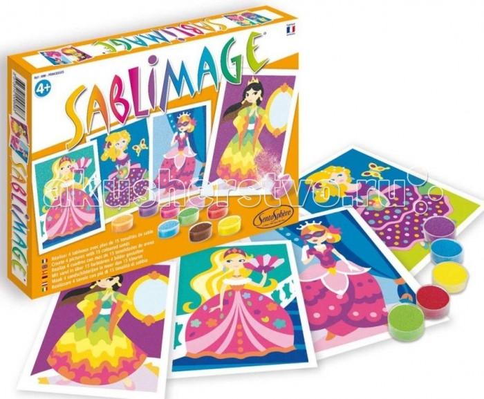 Картины своими руками SentoSpherE Песочные картинки Принцессы, Картины своими руками - артикул:523516