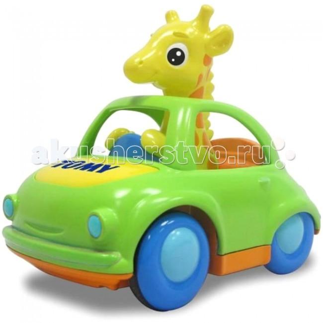Развивающие игрушки Tomy Веселый жираф-водитель развивающая игрушка tomy веселый жираф водитель музыкальная