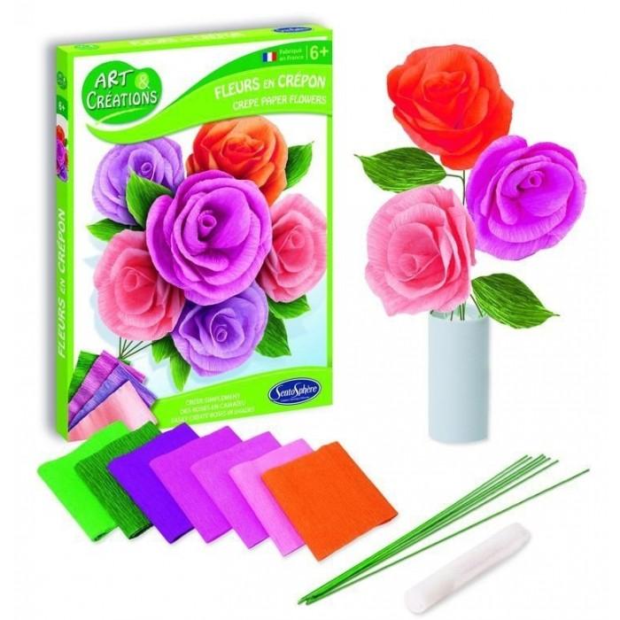 Наборы для творчества SentoSpherE Набор для детского творчества Цветы