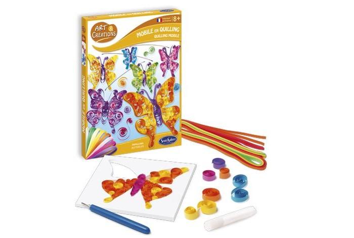 Наборы для квиллинга SentoSpherE Набор для детского творчества Бабочки, Наборы для квиллинга - артикул:523841