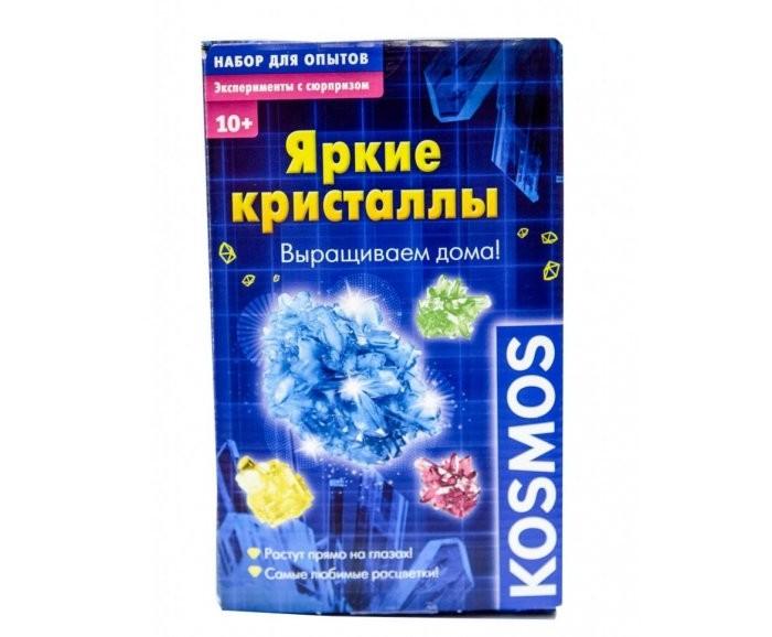 Наборы для выращивания Kosmos Набор Яркие кристаллы: Выращиваем дома