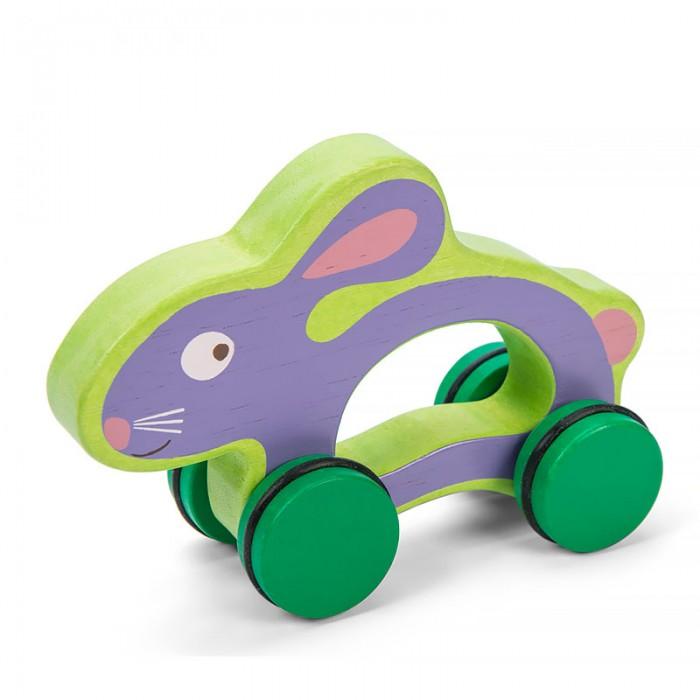 Каталки-игрушки LeToyVan Кролик каталки bondibon игрушка деревянная каталка с ручкой пингвин bondibon