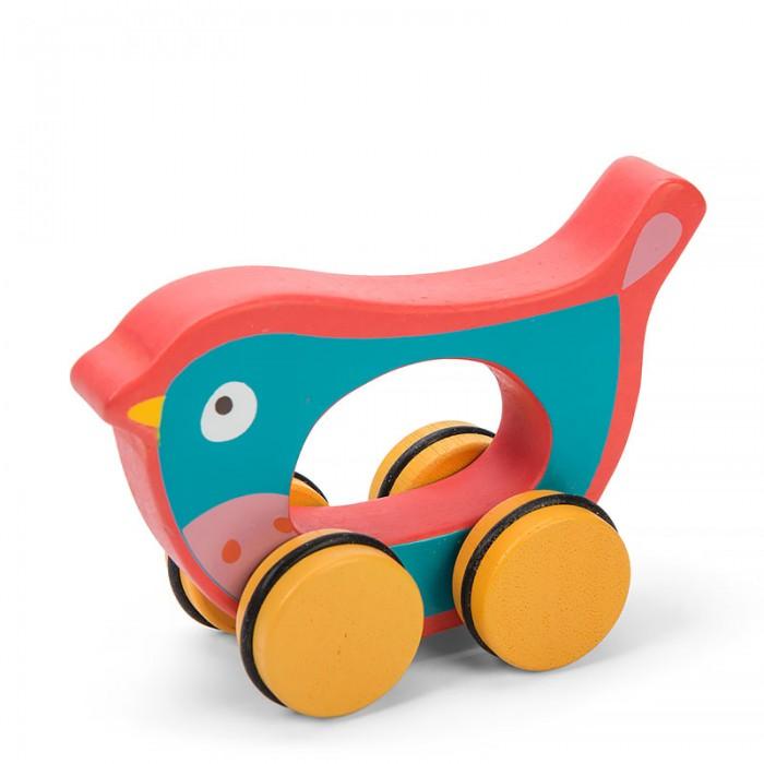Каталки-игрушки LeToyVan Птичка каталки игрушки bondibon игрушка деревянная каталка с веревочкой гусеница bох