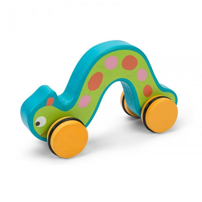 Каталки-игрушки LeToyVan Гусеница каталки bondibon игрушка деревянная каталка с ручкой пингвин bondibon