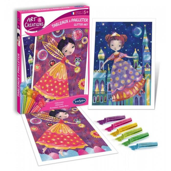 Наборы для творчества SentoSpherE Набор для детского творчества Принцессы наборы для творчества disney набор для творчества принцессы